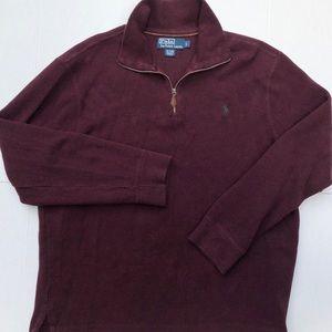Polo Sweater, Quarter Zip